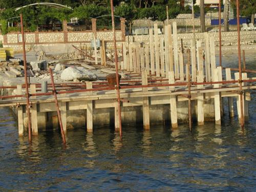 Construction of pier