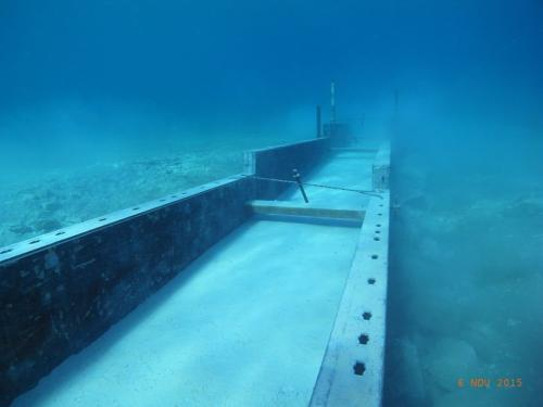 Underwater concreting